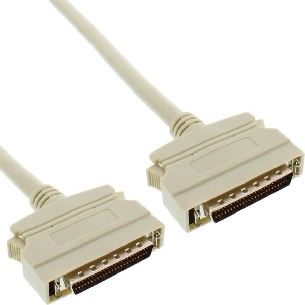 SCSI II Kabel, 50pol mini Sub D Stecker / Stecker, 2m