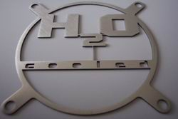 Lüftergitter Laser Cut H²O-Cooled 80x80mm