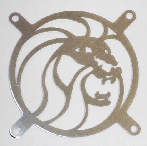 Lüftergitter Laser Cut Lion 92x92mm