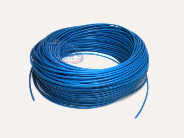Drahtlitze 1x0,5mm², blau, Rolle m. 100m, H05V-K