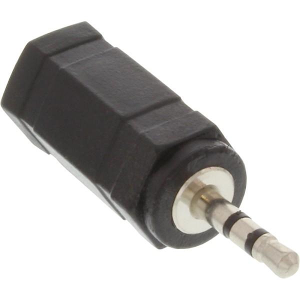 Audio Adapter, 2,5mm Klinke Stecker zu 3,5mm Buchse, Stereo