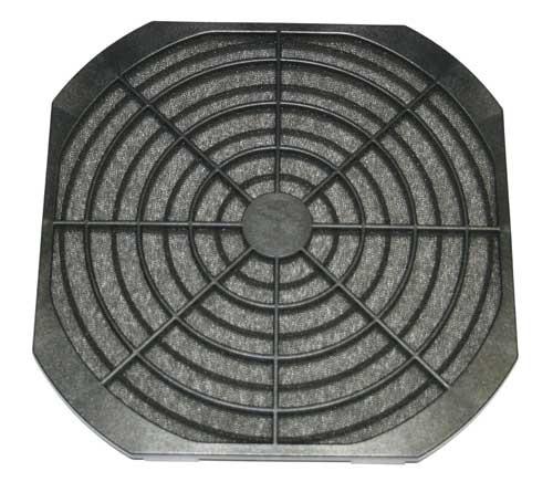 Filter-Kit für Lüfter 225x225mm Kunststoff schwarz