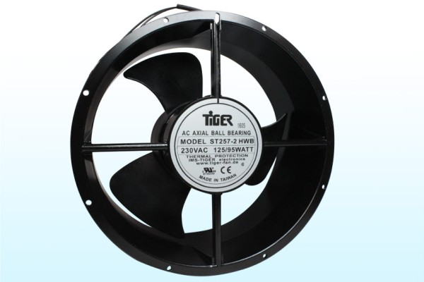 Lüfter Axial 230V AC Ø=254x107mm 2600U/min