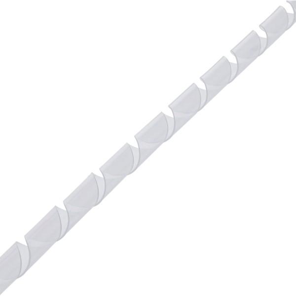 Spiralband 10m, weiß, 25mm