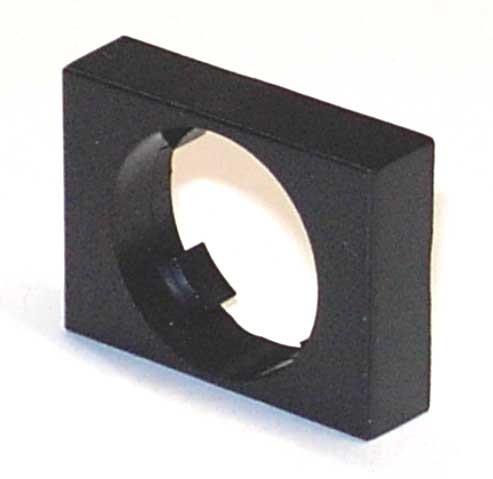 Frontrahmen für Schlüssel- und Drehschalter 18x24mm