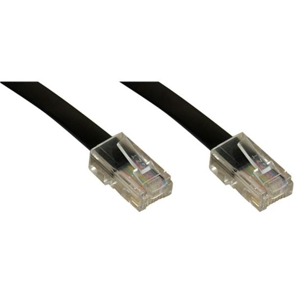 ISDN Anschlußkabel, RJ45 Stecker / Stecker (8P4C), 10m