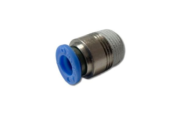 """Gerader Steckanschluss R 1/8""""-8mm, IQS-Standard mit Innensechskant"""