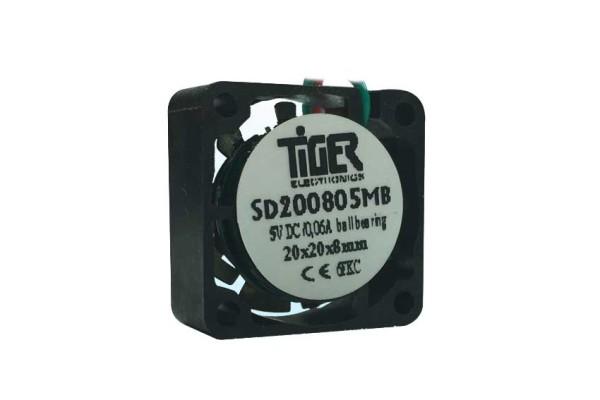 Lüfter premium-bladecurved 5V DC Kugellager 6100U/min