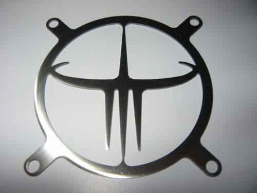 Lüftergitter Laser Cut Quake III 92x92mm