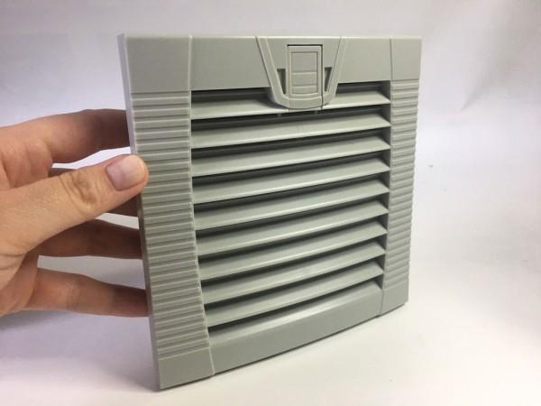 Austritts-Filter für 120x120mm Lüfter, snap-in.