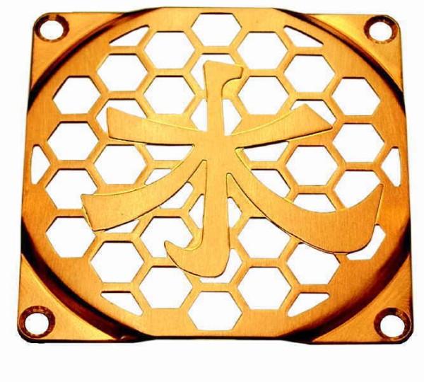 Lüftergitter Lasercut Shui 80x80mm