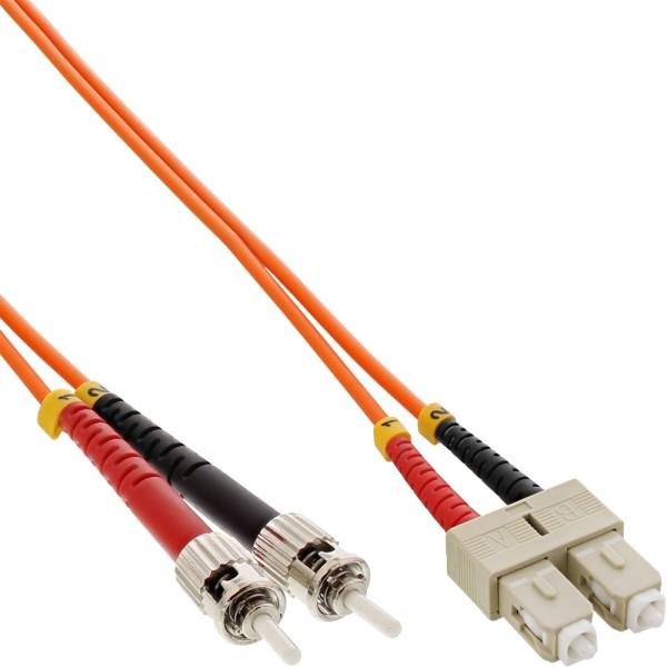 LWL Duplex Kabel, SC/ST, 50/125µm, OM2, 3m
